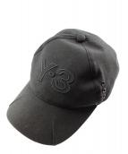 Y-3(ワイスリー)の古着「ロゴキャップ」 ブラック