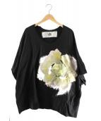 BALMUNG(バルムング)の古着「プリントビッグTシャツ」|ブラック