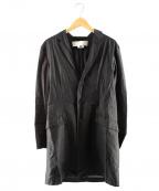 GANRYU(ガンリュウ)の古着「ロングシャツジャケット」 グレー