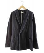 BED J.W. FORD(ベッドフォード)の古着「ラペルテーラードジャケット」|ネイビー