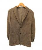 BOGLIOLI(ボリオリ)の古着「3Bウールジャケット」 ブラウン