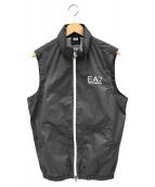 EA7(イーエーセブン)の古着「ナイロンベスト」|グレー