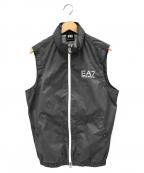 EA7(イーエーセブン)の古着「ナイロンベスト」 グレー