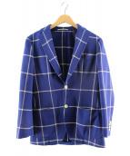RING JACKET(リングジャケット)の古着「3Bジャケット」|ホワイト×ブルー