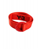 Y-3(ワイスリー)の古着「リングベルト」|レッド