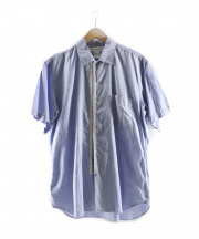 COMME des GARCONS SHIRT(コムデギャルソンシャツ)の古着「半袖シャツ」|ネイビー