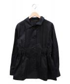 H BEAUTY&YOUTH(エイチ ビューティアンドユース)の古着「コットンジャケット」|ブラック