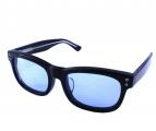 CRIMIE(クライミー)の古着「カラーレンズサングラス」|ブラック×ブルー