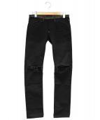 UNDERCOVERISM(アンダーカバイズム)の古着「切替パンツ」|ブラック