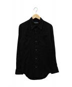 SADISTIC and DANGEROUS(サディスティックアンドデンジャラス)の古着「ウエスタンシャツ」|ブラック