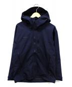 MAMMUT(マムート)の古着「ゴアテックスジャケット」|ネイビー
