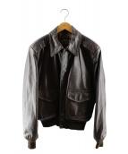 SCHOTT BROS.(ショットブロス)の古着「タイプA2ジャケット」|ブラウン
