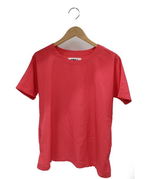 MM6(エムエムシックス)MM6 (エムエムシックス) ハーフスリーブブラウス ピンク サイズ:38 S32NC0306 14ssの古着・服飾アイテム