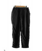 TEATORA(テアトラ)の古着「パッカブルウォレットパンツ」|ブラック