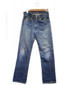 LEVIS(リーバイス)の古着「[古着]60'sヴィンテージジーンズ」|ライトインディゴ