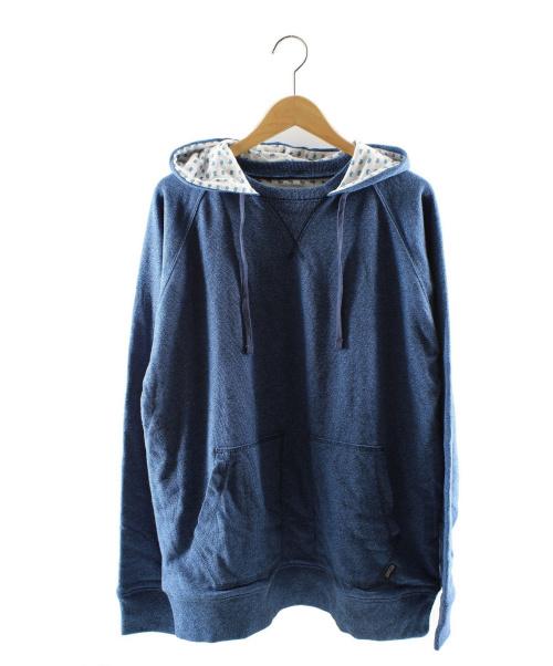 stussy(ステューシー)stussy (ステューシー) プルオーバーパーカー ブルー サイズ:L 未使用品の古着・服飾アイテム