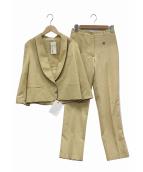 GOLDEN GOOSE(ゴールデングース)の古着「セットアップスーツ」|ベージュ