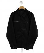 APPLEBUM(アップルバム)の古着「コーチジャケット」|ブラック