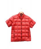 mont-bell(モンベル)の古着「スペリオルダウンTジャケット」|レッド