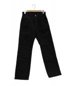 FREEWHEELERS(フリーホイーラーズ)の古着「ペインターデニムパンツ」|ブラック