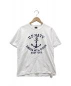 McCoys(マッコイズ)の古着「プリントTシャツ」|ホワイト