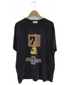 STUDIO SEVEN×sKetChboOok3(スタジオセブン×スケッチブックスリー)の古着「プリントカットソー」|グレー
