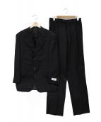 CORNELIANI(コルネリアーニ)の古着「3ピーススーツ」|ブラック