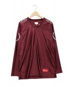 Supreme(シュプリーム)の古着「フットボールTシャツ」|ボルドー