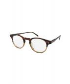 OLIVER PEOPLES(オリバーピープルズ)の古着「眼鏡」|ブラウン