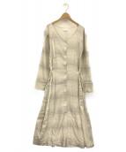 COLLINA STRADA(コリーナストラーダ)の古着「MARCO DRESS」 ベージュ
