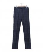The Stylist Japan(ザスタイリストジャパン)の古着「ウィンドペンセンタープレスパンツ」|ネイビー