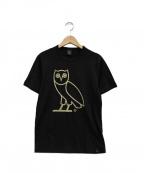 OCTOBERS VERY OWN(オクトーバーズ ベリー オウン)の古着「ロゴプリントTシャツ」 ブラック