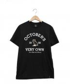 OCTOBERS VERY OWN(オクトーバーズ ベリー オウン)の古着「プリントTシャツ」 ブラック