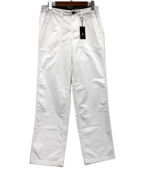BLACK LABEL CRESTBRIDGE(ブラックレーベルクレストブリッジ)BLACK LABEL CRESTBRIDGE (ブラックレーベルクレストブリッジ) ペインターパンツ ホワイト サイズ:SIZE 76 未使用品の古着・服飾アイテム