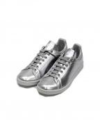 adidas by RAF SIMONS(アディダス バイ ラフシモンズ)の古着「ローカットスニーカー」|シルバー