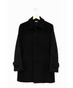 COMME des GARCONS HOMME DEUX(コムデギャルソン オム ドゥ)の古着「ウールコート」|ブラック