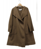 MaxMara(マックスマーラ)の古着「カシミヤコート」|ブラウン