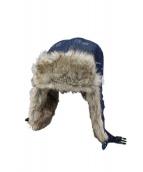 Supreme(シュプリーム)の古着「帽子」|インディゴ