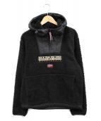 NAPAPIJRI(ナパピリ)の古着「フリースジャケット」|ブラック