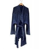 Porter Classic(ポータークラシック)の古着「フレンチサーマルガウンコート」|インディゴ