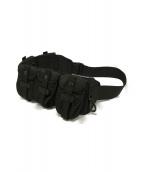 LABRAT × PORTER(ラブラット × ポーター)の古着「マルチポケットウエストバッグ」|ブラック