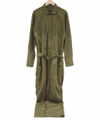 Engineered Garments × FREAKS STORE(エンジニアードガーメント × フリークスストア)の古着「オールインワン」|オリーブ