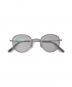 EYEVAN(アイヴァン)の古着「眼鏡」 シルバー