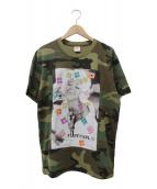 Supreme(シュプリーム)の古着「プリントTシャツ」|グリーン