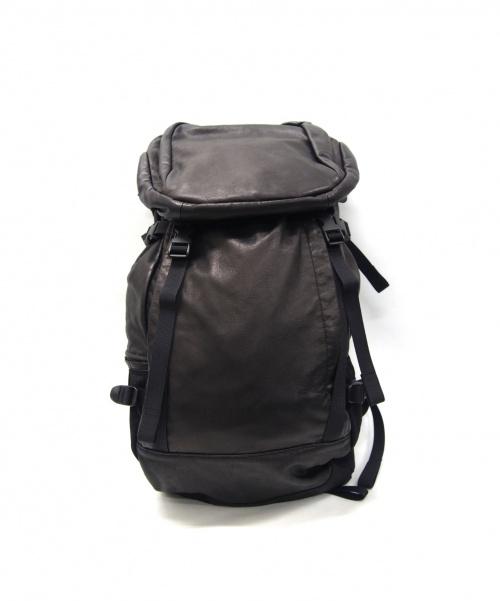 PORTER PROGRESS(ポータープログレス)PORTER PROGRESS (ポータープログレス) バックパック ブラック サイズ:以下参照の古着・服飾アイテム