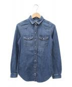 DIESEL(ディーゼル)の古着「デニムシャツ」|インディゴ