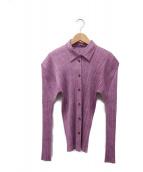 PLEATS PLEASE(プリーツプリーズ)の古着「プリーツシャツ」|ピンク