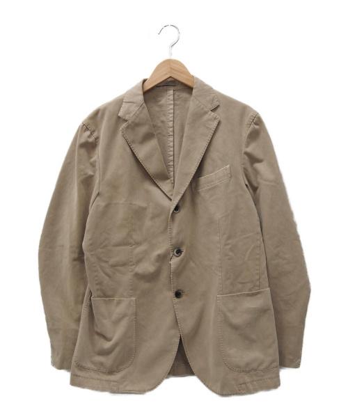 BOGLIOLI(ボリオリ)BOGLIOLI (ボリオリ) テーラードジャケット ベージュ サイズ:52の古着・服飾アイテム