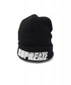 Supreme(シュプリーム)の古着「スパンコールビーニー」|ブラック