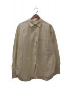 TODAYFUL(トゥデイフル)の古着「ボーイフレンドポケットシャツ」|ベージュ